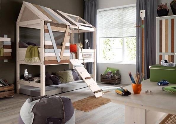 (تصاویر) با این تخت خواب ها دل بچه ها را به دست آورید!