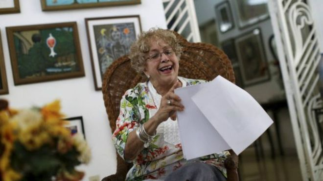 اوباما به دعوت زن کوبایی برای خوردن قهوه پاسخ داد