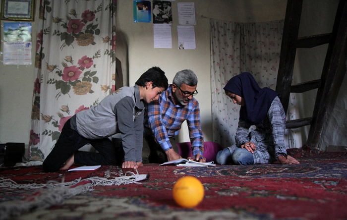 (تصاویر) مدرسهای در خانه دانشآموز