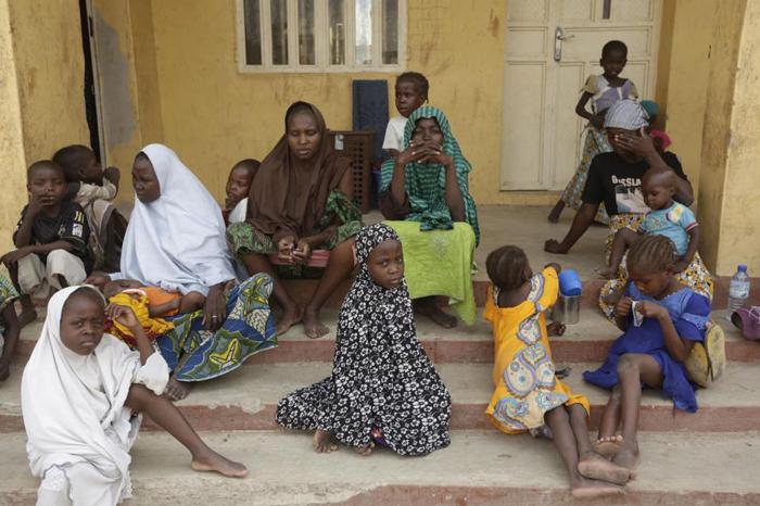 (تصاویر) زنان آزادشده از دست بوکوحرام