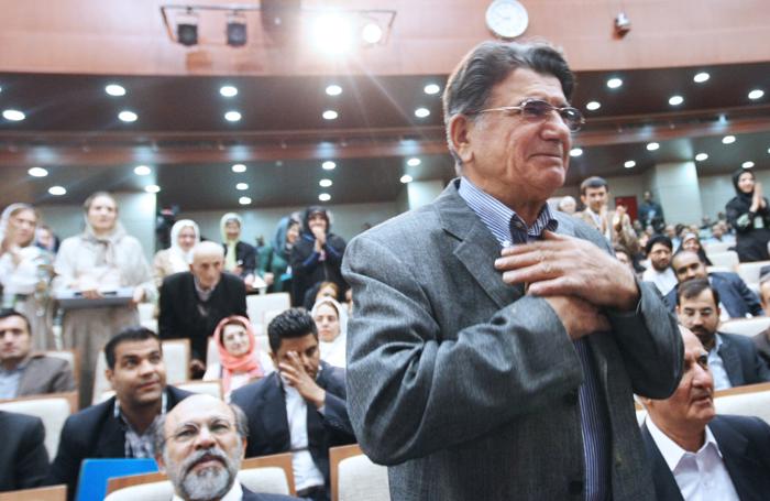 (تصاویر) شجریان در همایش دانشگاه آزاد