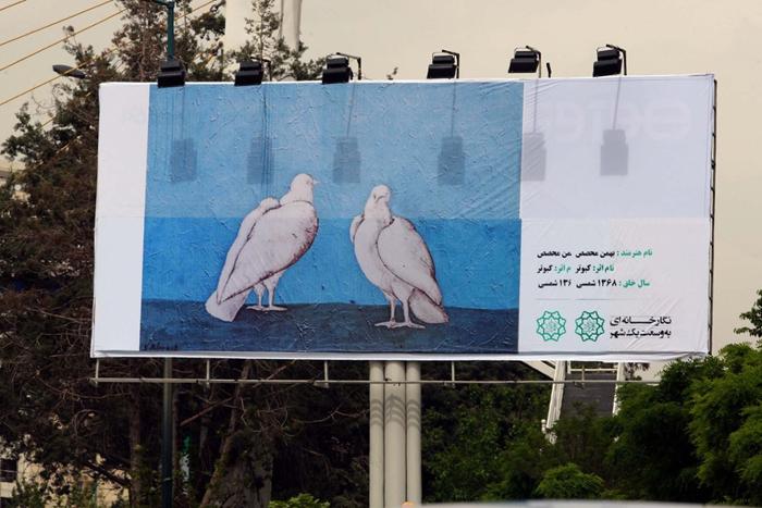 (تصاویر) گزارشگاردین از طرح شهرداری تهران