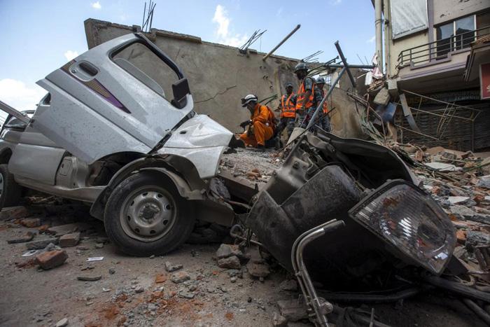 (تصاویر) دومین زمینلرزه مهیب در نپال