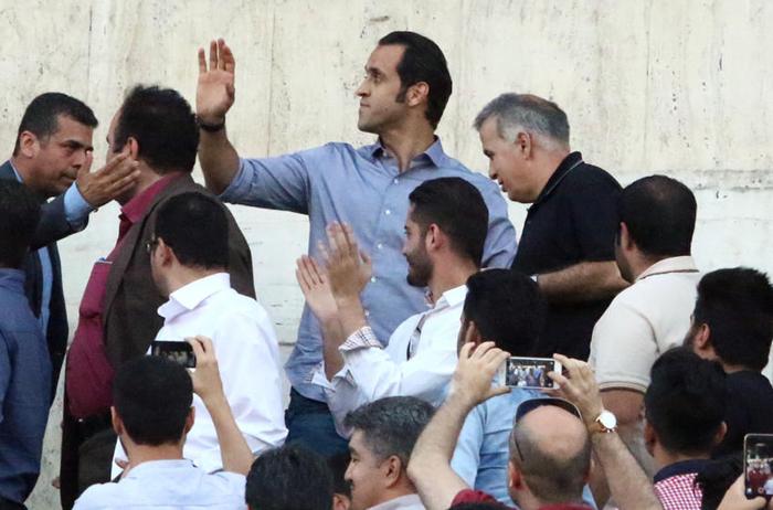 (تصاویر) حواشی دیدار پرسپولیس و الهلال