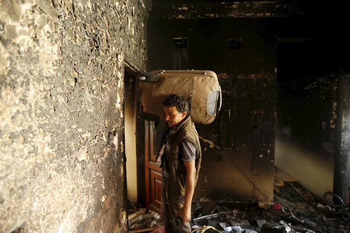 (تصاویر) یمن؛ زندگی زیر آتش