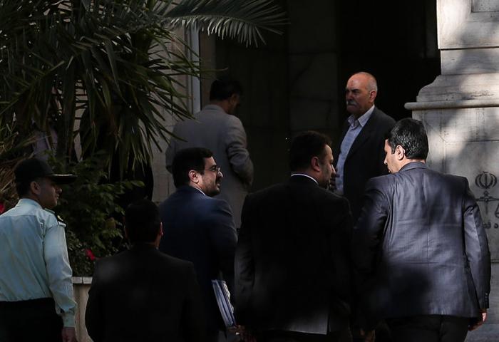 (تصاویر) حضور مرتضوی در دادگاه