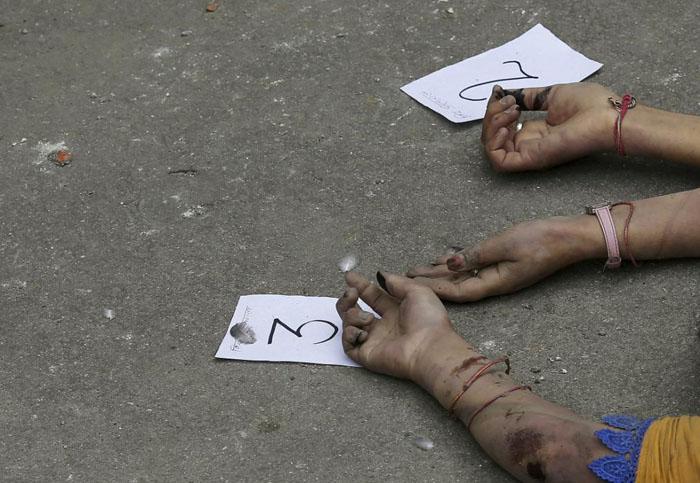 (تصاویر) تراژدی در کاتماندو