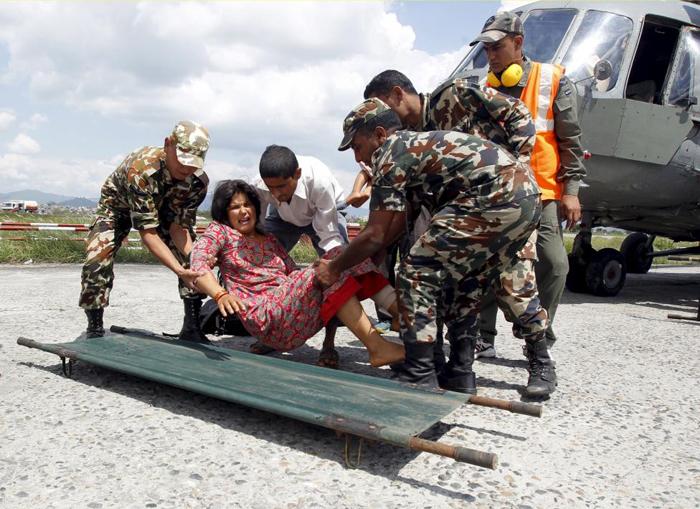 (تصاویر) کاتماندو، سه روز پس از فاجعه