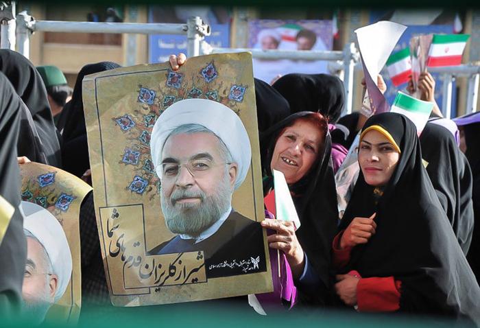 (تصاویر) سفر روحانی به شیراز