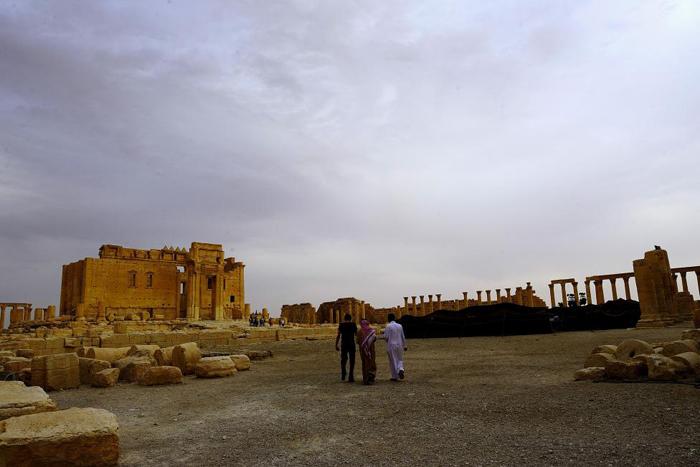 (تصاویر) شهر باستانی پالمیرای پیش از داعش