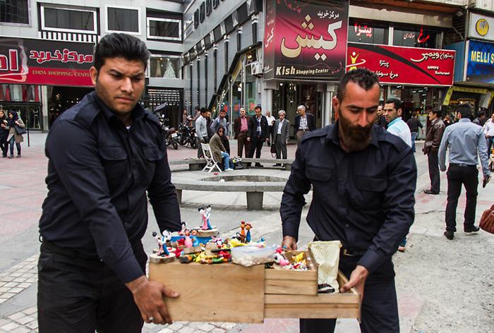 (تصاویر) نظم خونین در تهران
