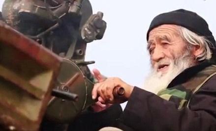 (تصاویر) پیرترین عضو داعش
