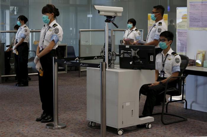 (تصاویر) مقابله با سندرم تنفسی در کرهجنوبی