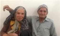 (تصویر) ازدواج مسنترین زوج ایرانی در میبد