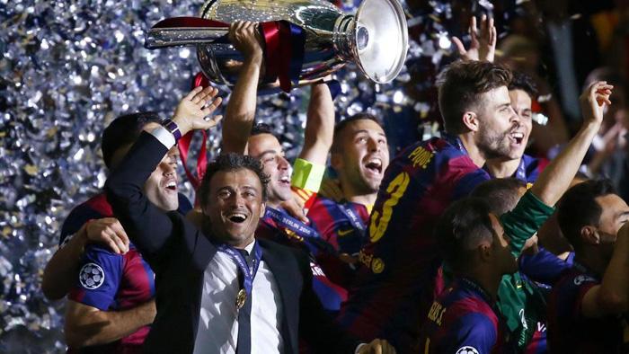(تصاویر) جشن قهرمانی بارسلونا