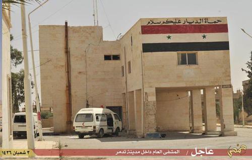 (تصاویر) پالمیرا در تصرف داعش