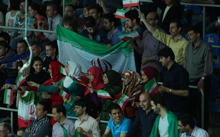 (تصاویر) حواشی پیروزی ایران برابر روسیه