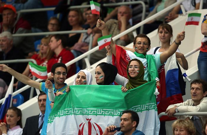 (تصاویر) حواشی پیروزی ایران بر روسیه