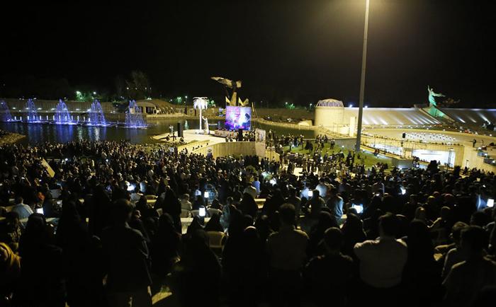 (تصاویر) همایش «مرگ بر امریکا» در همدان