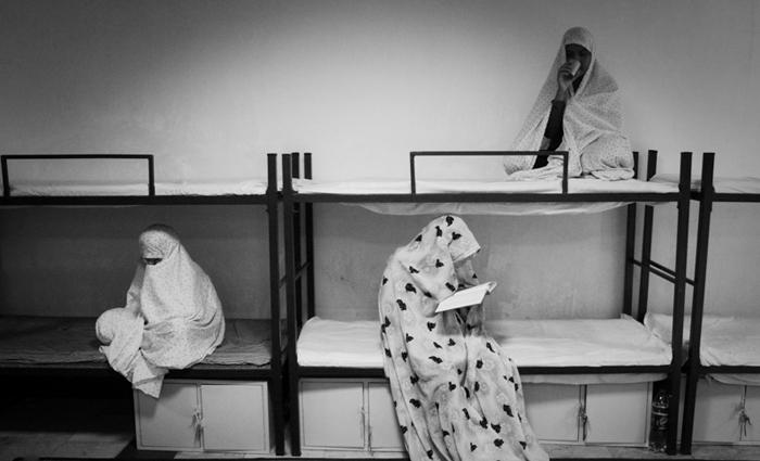 (تصاویر) کمپ ترک اعتیاد بانوان
