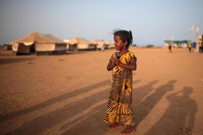 (تصاویر) آوارگان یمنی در «جیبوتی»