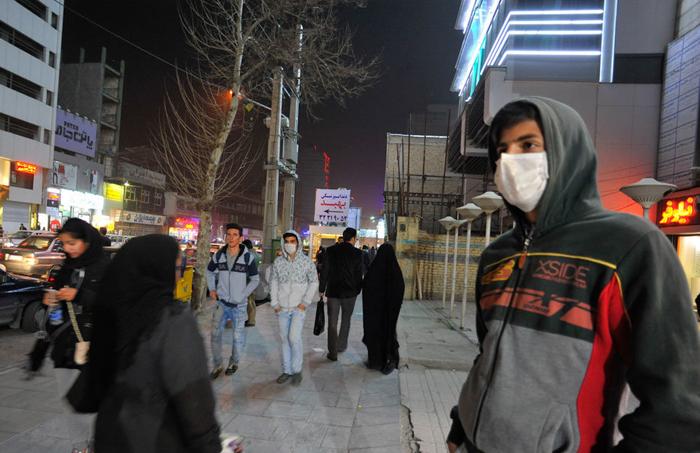 (تصاویر) ریزگردها در کرج
