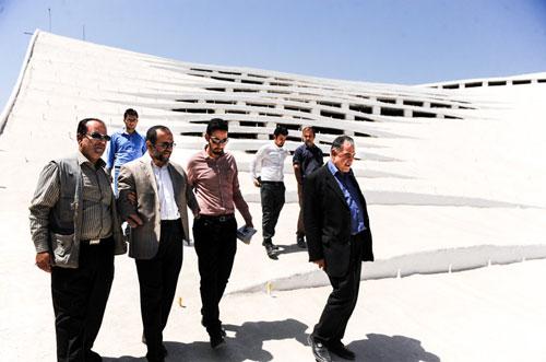 توقف ساخت مسجد 50 میلیاردی در تهران
