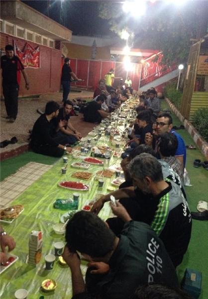 ضیافت افطاری که برانکو برگزار کرد