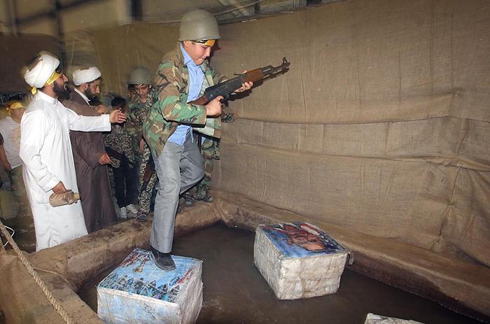 (تصاویر) شهربازی برای جنگ با دشمن فرضی