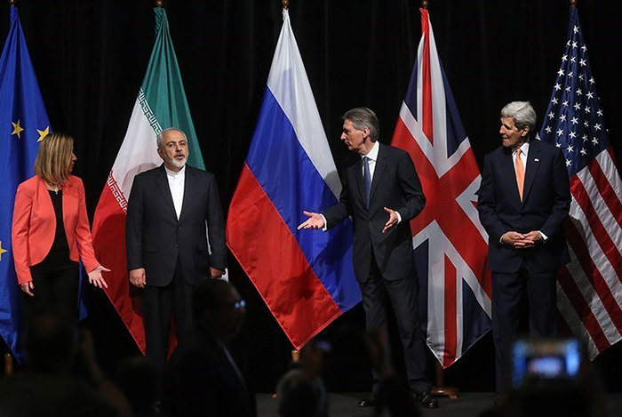 (تصاویر) قرائت بیانیه مشترک ایران و 5+1