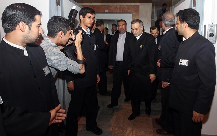 (تصاویر) ظریف و تیم مذاکرهکننده در مشهد