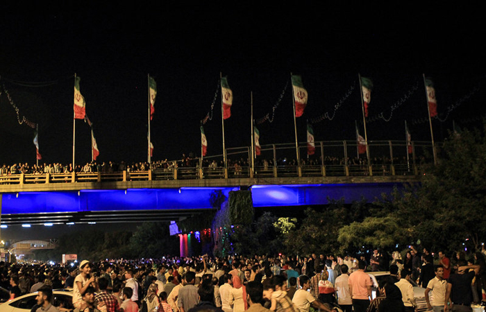 (تصاویر) جشن هستهای در سراسر کشور