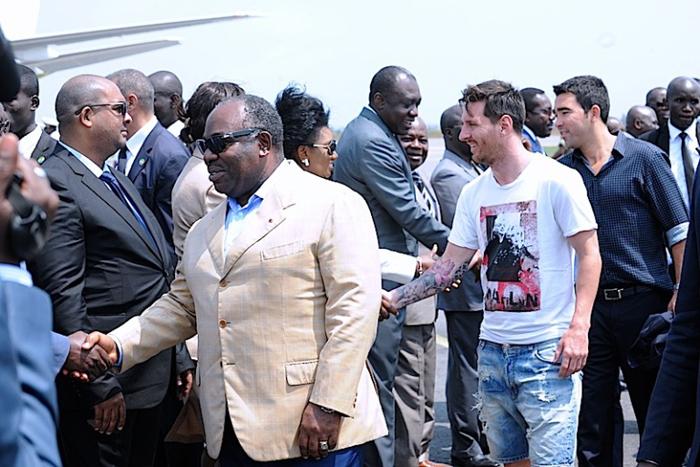 (تصاویر) رئیسجمهوری که راننده مسی شد