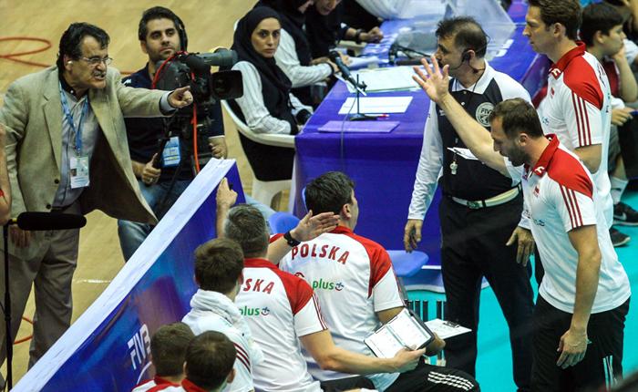(تصاویر) حواشی پیروزی ایران برابر لهستان