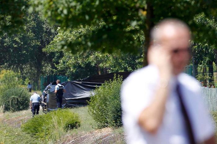 (تصاویر) محل وقوع حمله تروریستی در فرانسه