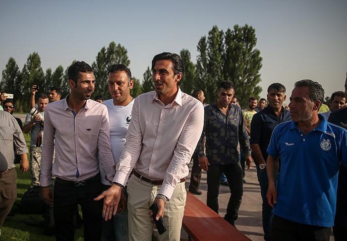 (تصاویر) آشتیکنان طالبلو و رحمتی