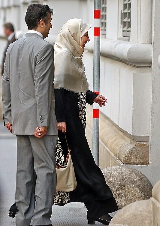 حضور همسر ظریف در هتل محل مذاکرات