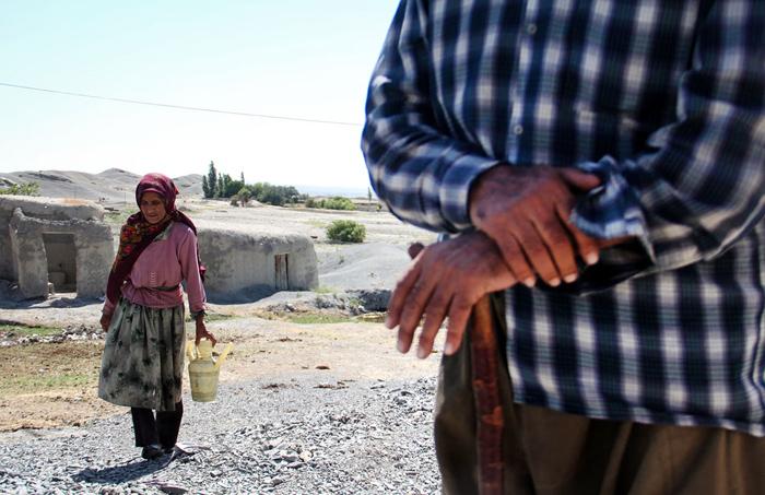 (تصاویر) بی آبی در روستای «فتح الله»