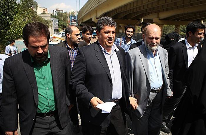 (تصاویر) ورود مهدی هاشمی به زندان اوین