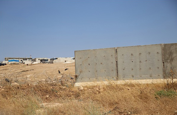 (تصاویر) دیوار کشی ترکیه از ترس داعش