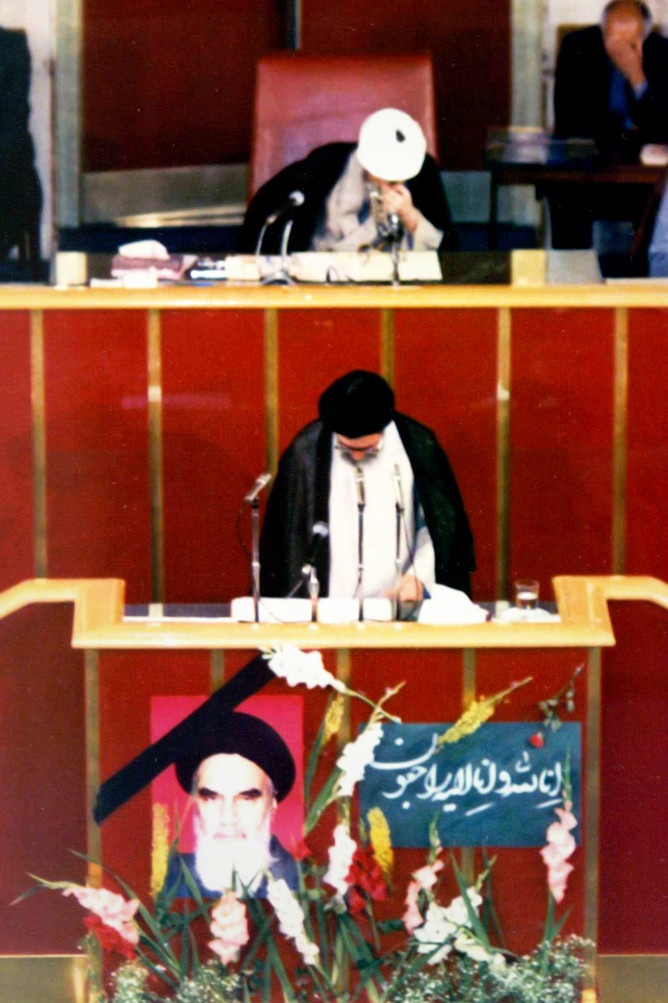 (تصاویر) دور دوم ریاست جمهوری آیتاللهخامنهای