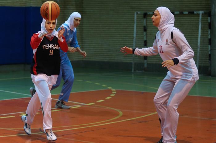 (تصاویر) پوشش بانوان بسکتبالیست