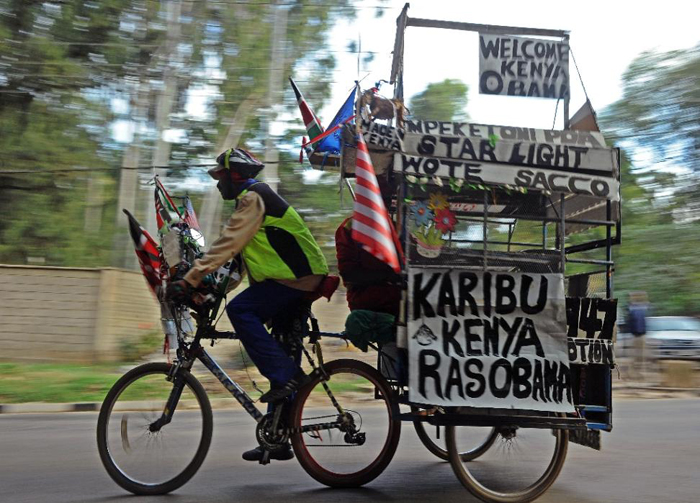 (تصاویر) سفر اوباما به سرزمین پدری