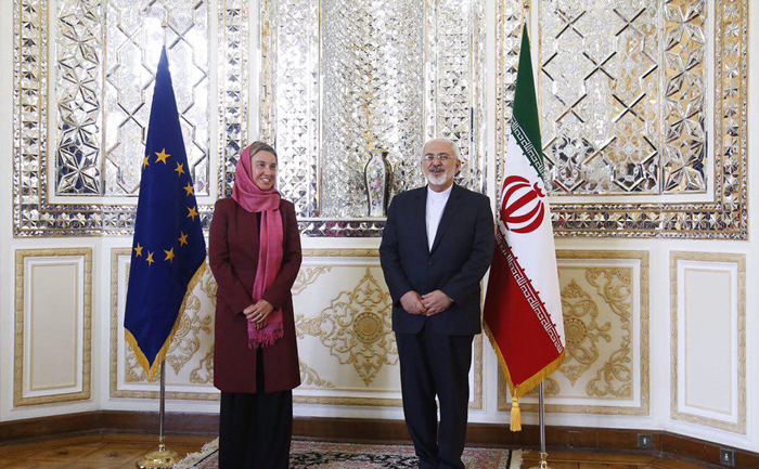 (تصاویر) فدریکا موگرینی در تهران