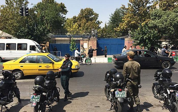 (تصاویر) بازگشایی سفارت انگلیس در تهران