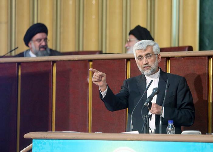 (تصاویر) سعید جلیلی میهمان ویژه خبرگان