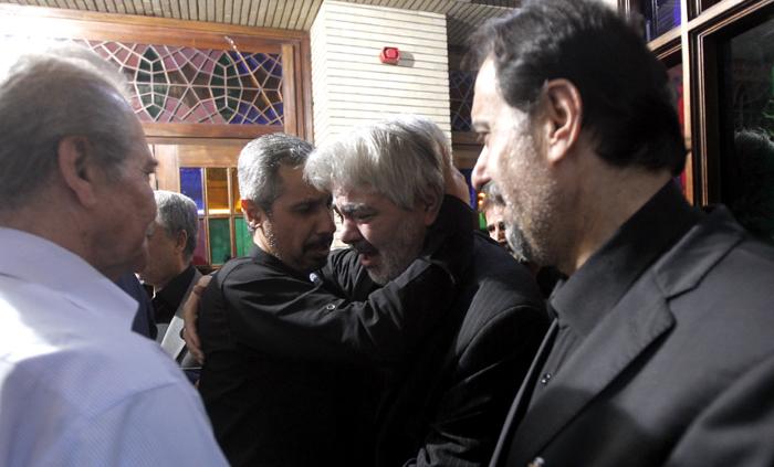 (تصاویر) «حبیب» در ختم علی طباطبائی