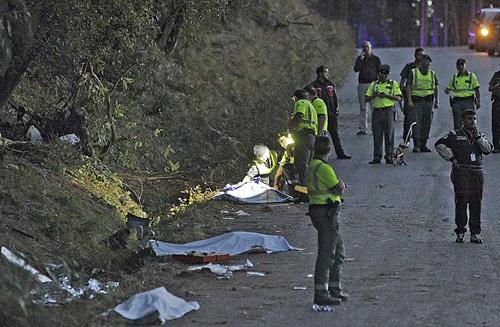 (تصاویر) رالی مرگبار در اسپانیا
