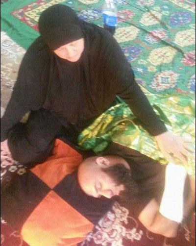 (تصویر) ابوعزرائیل مجروح شد