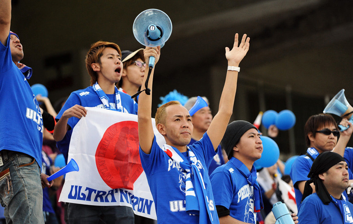 (تصاویر) حواشی بازی افغانستان و ژاپن در آزادی